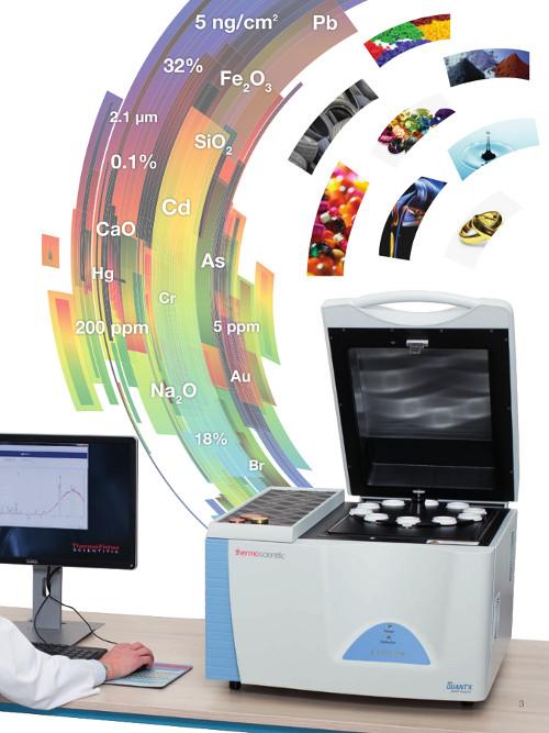 Obr. 2: ARL™ QUANT'X EDXRF Spektrometr