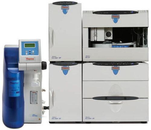 Obr. 2: On-line napojenie IC Pure Water Purification systému na iónový chromatograf ICS-5000+
