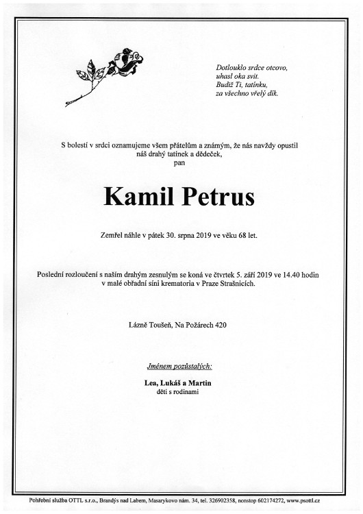 Parte Kamil Petrus
