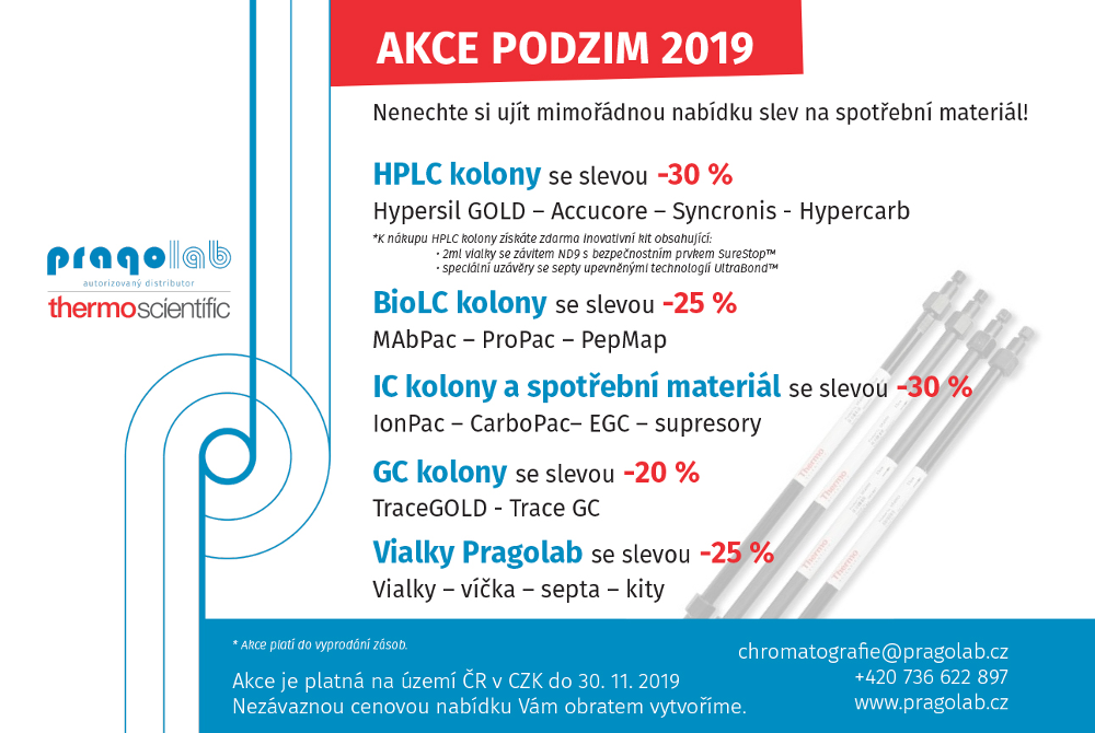 AKCE - SLEVY PODZIM 2019