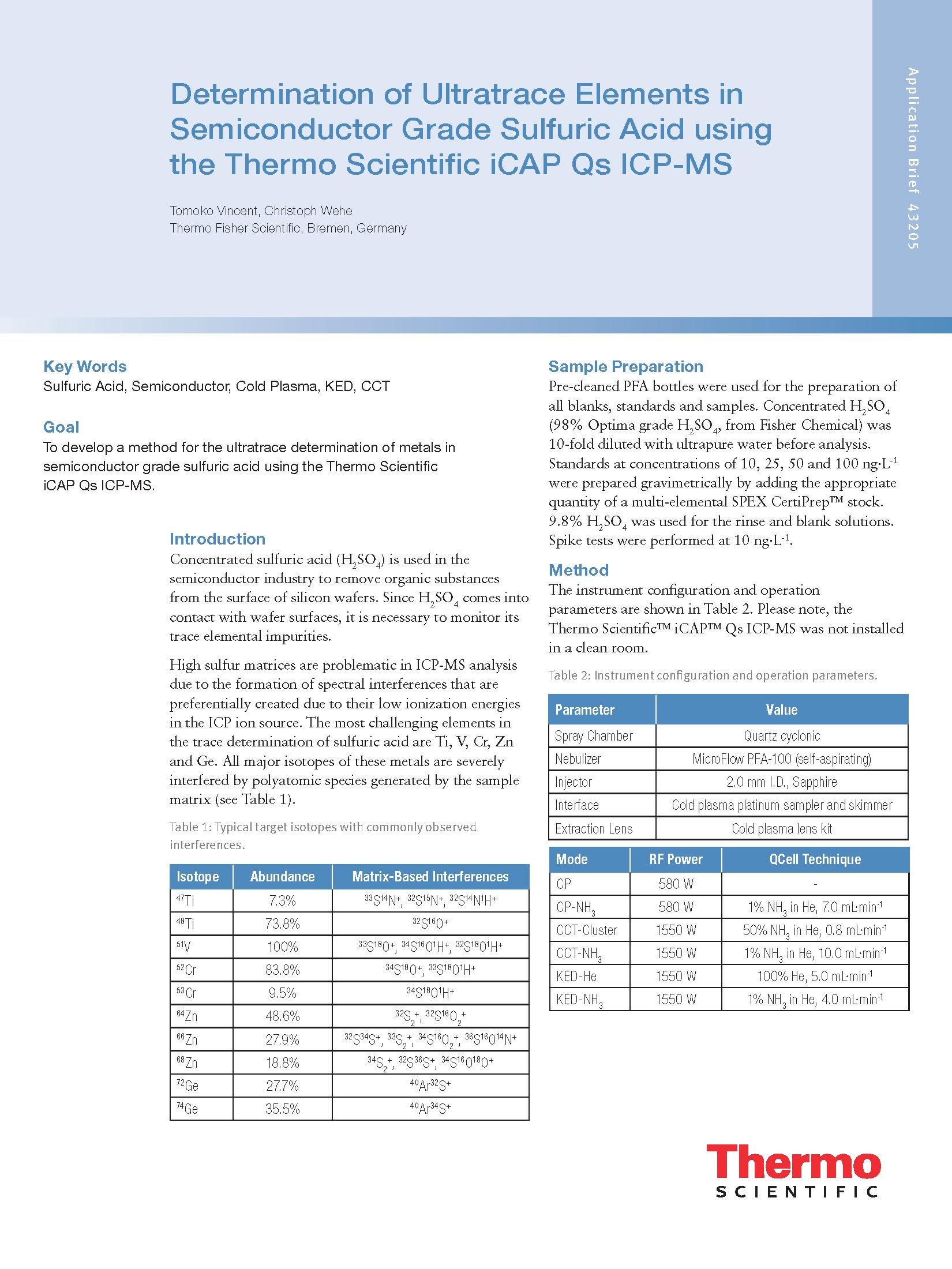 Aplikační listy  ICP-MS z oblasti polovodičů 02