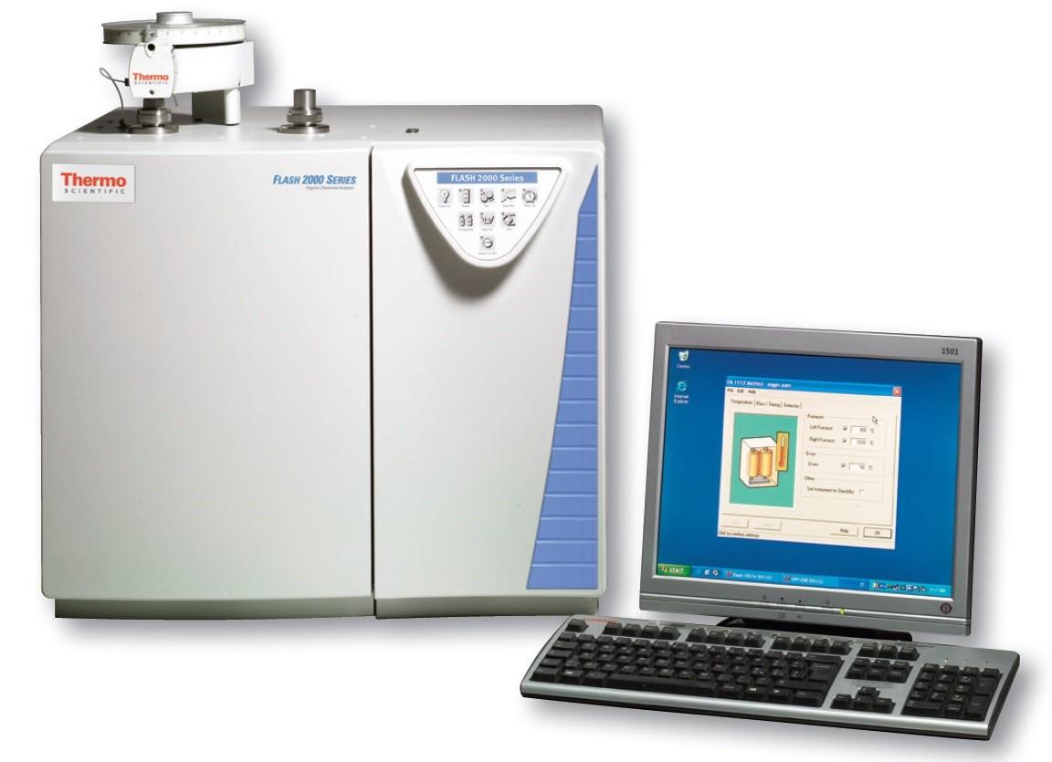 Analyzátor FLASH 2000 výrobce Thermo Scientific