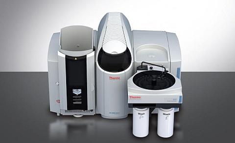 prvková analýza: absorpční spektrometr AAS - iCE 3500