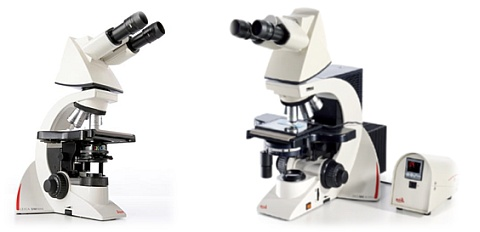 mikroskopy Leica DM1000 LED a Leica DM2000 LED