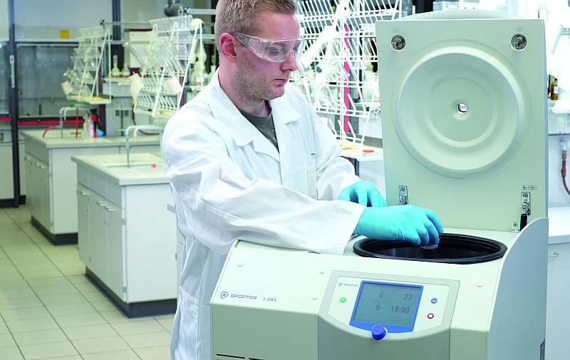 Obr: Inovace centrifug Sigma 3-30K(H)S