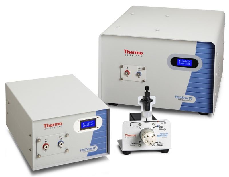 Obr: pektrometr NMR picoSpin-80 MHz