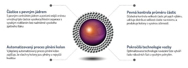 Obr. 1:  Kľúčové prvky technológie pevného jadra