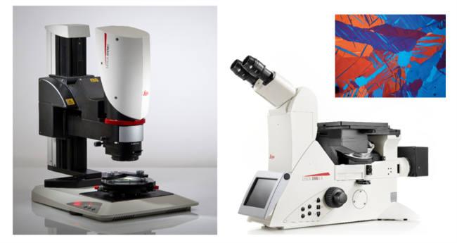 Obr. 5: Ukážka digitálnej aj klasickej mikroskopie od Leica Microsystems