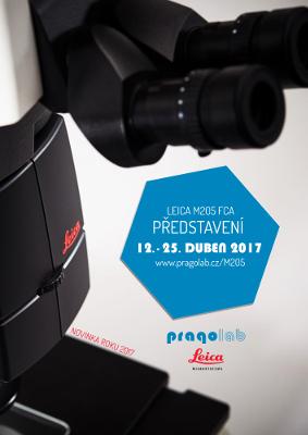 Novinka ve steremikroskopii a to nová Leica M205 FCA!