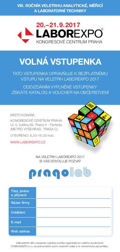 LABOREXPO 2017 PRAGOLAB