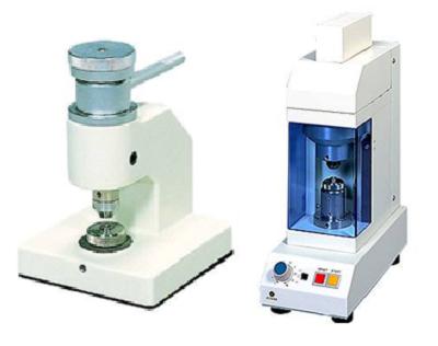 Ruční a automatický lis na vzorky